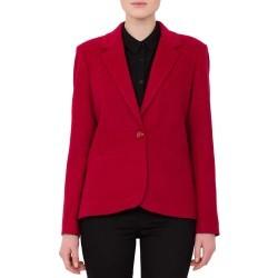 Sacou Modas rosu din lana model S277