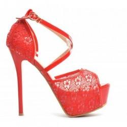 Sandale Mix Rosii