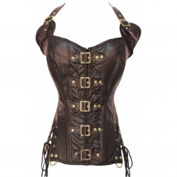 Corset Coffee Buckle-up