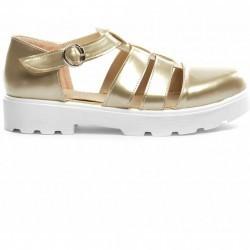 Pantofi Casual Mikono Aurii
