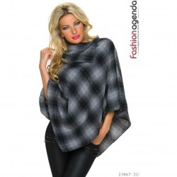 Poncho Pierce Dark Grey