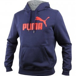 Hanorac barbati Puma ESS No1 Logo Hooded Sweat FL 83187006