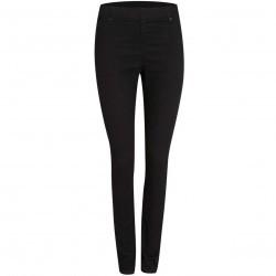Pantaloni moderni, skinny, de culoare neagra