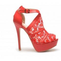 Sandale Picme Rosii