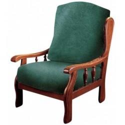 Husa extensibila pentru scaun rustic
