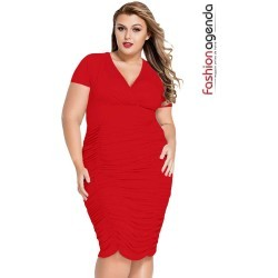 Rochie XXL Desire 63 Red