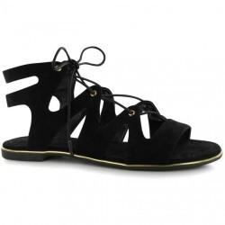 Sandale moderne, de culoare neagra-Miso
