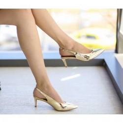 Sandale Moman Aurii