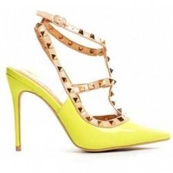 Sandale Syma Galbene Neon
