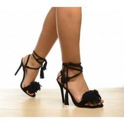Sandale Husto Negre