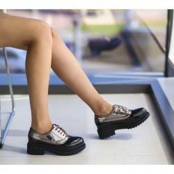 Pantofi Casual dama Loriet Negri 2